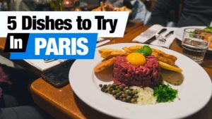 French Food Tour – 5 Dishes to Try in Paris, France! (Americans Try French Food)