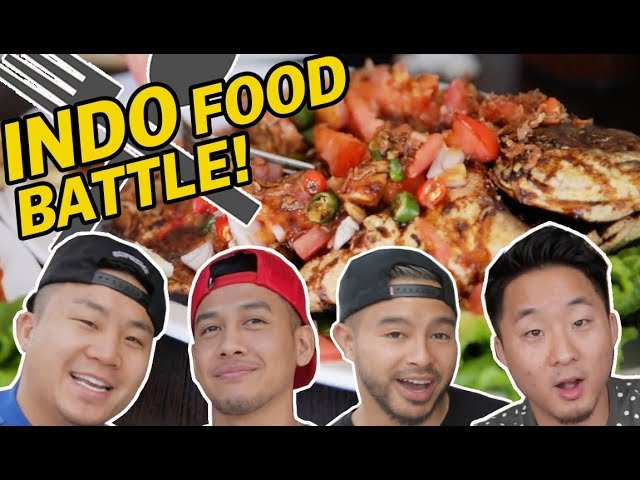 EPIC INDONESIAN FOOD FEAST w/ RICHIE & TAN (What's the Best Indonesian Dish?) // Fung Bros