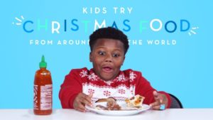 Kids Try Christmas Food From Around the World   Kids Try   HiHo Kids