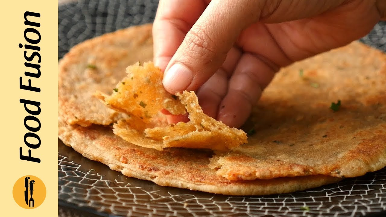 Chicken Layered Paratha By Food Fusion