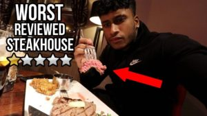 Eating A STEAK At The WORST REVIEWED STEAKHOUSE RESTAURANT In My City (London)