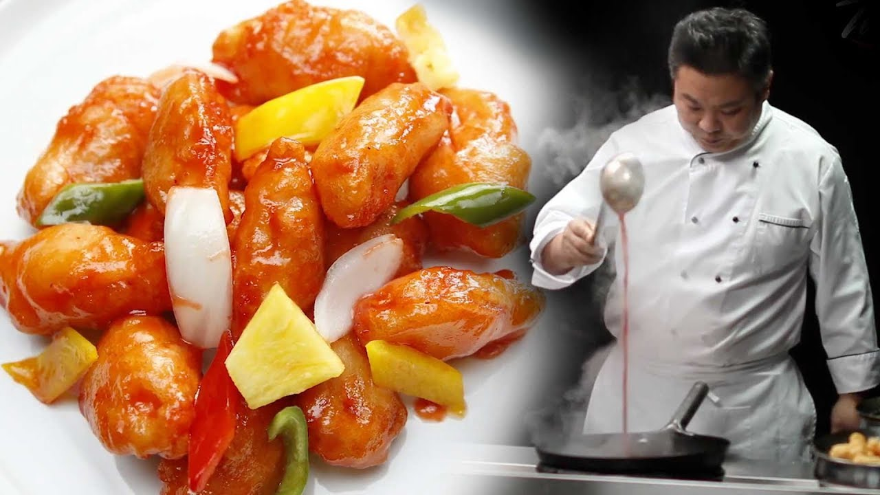 The Tastiest Sweet and Sour Chicken You'll ever eat