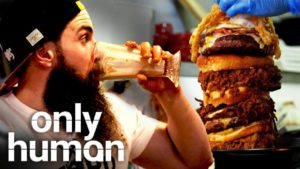 """Mr. """"Beard Meat Food"""" is Every Buffet Owner's Nightmare   Britain's Buffet Hunters   Only Human"""